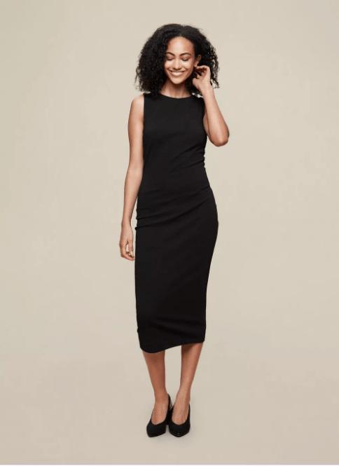 DP Tall Black Bodycon Dress
