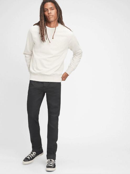GAP Selvedge Slim Jeans With GapFlex