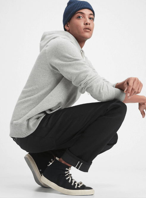 GAP Selvedge Straight Jeans With GapFlex