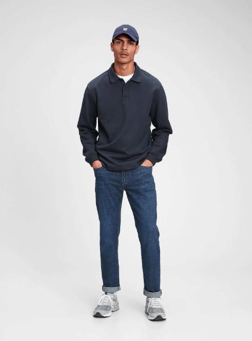 GAP GapFlex Straight Jeans With Washwell