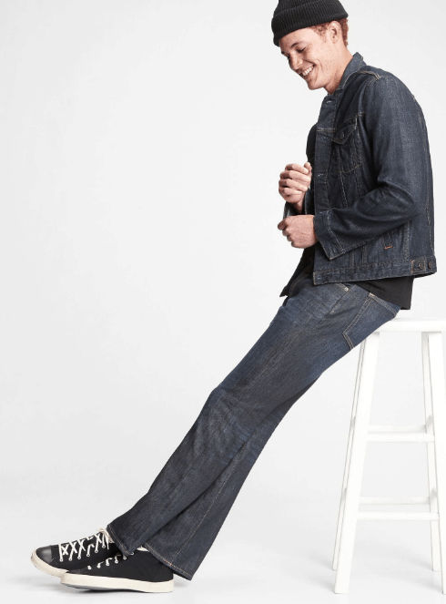 GAP Boot Jeans With Washwell